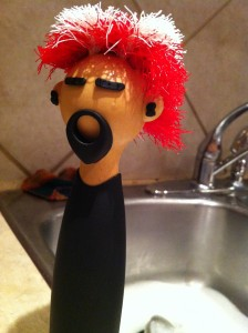 Punk Rock scrubber