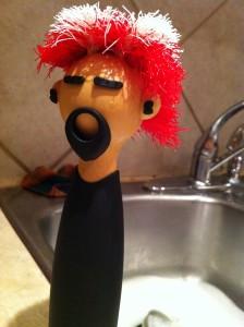 Punk Rock scrubber